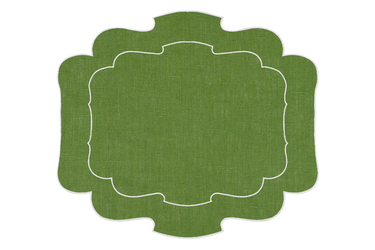 La gallina matta parentesi 800 placemat green 1200 xxx q85