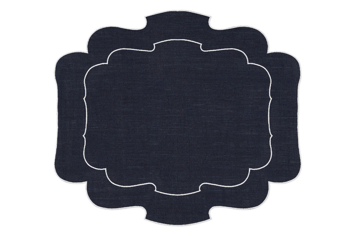 La gallina matta parentesi 800 placemat navy 1200 xxx q85
