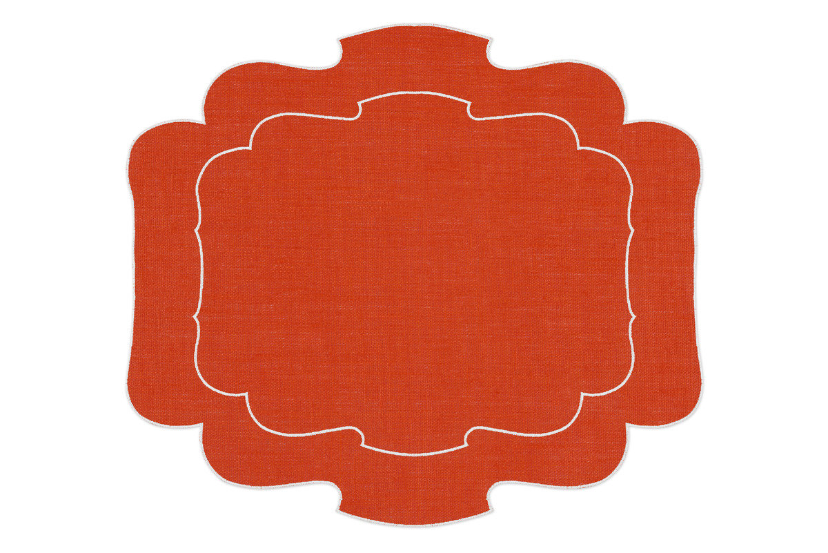 La gallina matta parentesi 800 placemat orange 1200 xxx q85